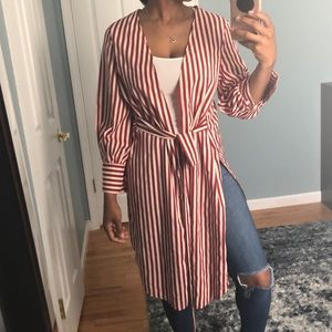 PrettyLittleThing candy cane duster